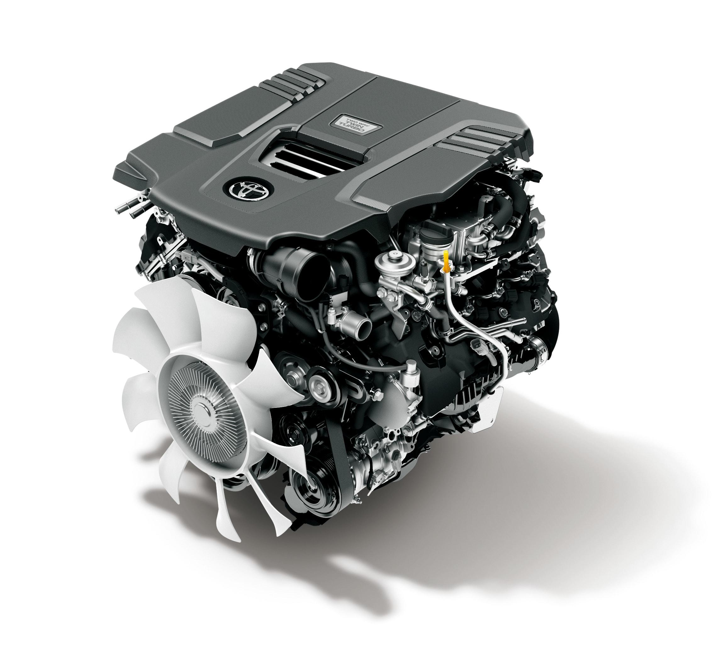 Toyota 300 Series LandCruiser Engine